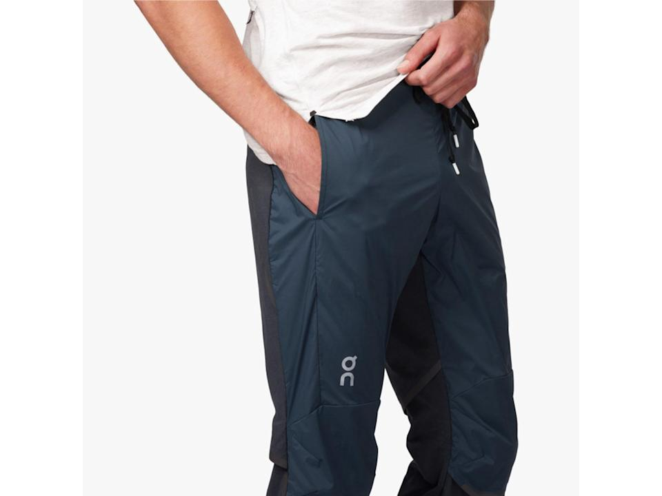 These trousers fit snugly around the ankles with an elasticated waist for maximum comfortOn Running