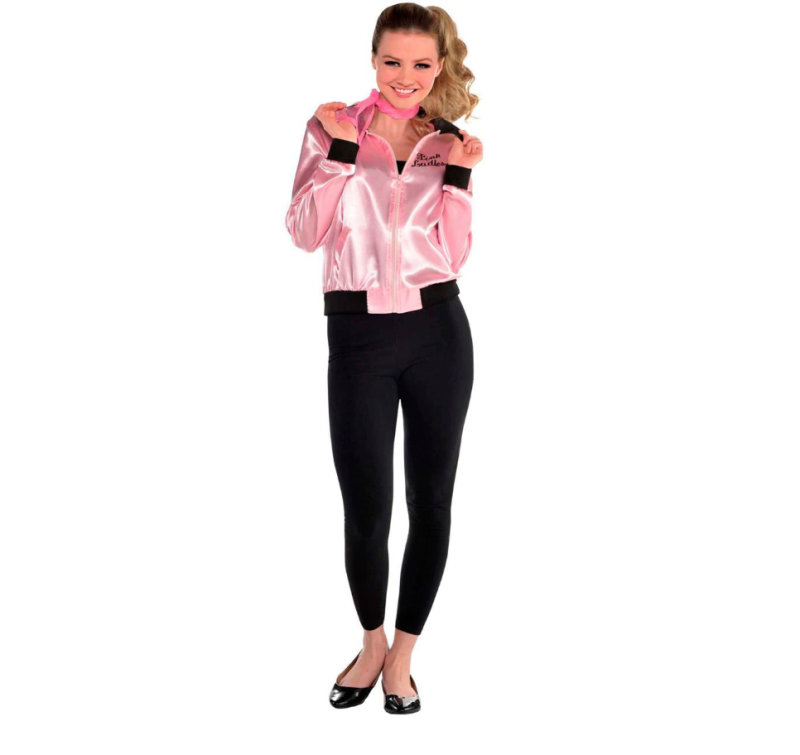 Grease Pink Women's Jacket. Photo via Party City.