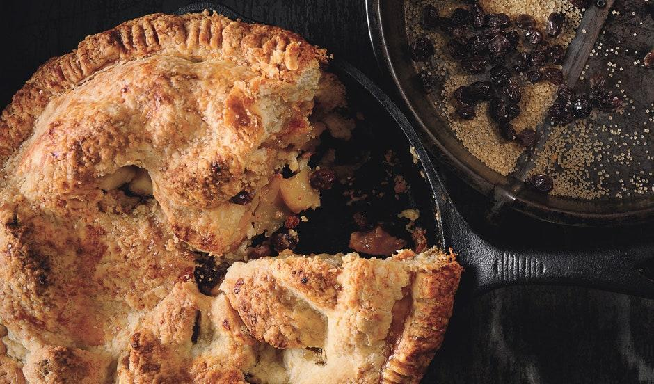 """If it ain't broke, don't fix it. <a href=""""https://www.bonappetit.com/recipe/old-fashioned-mixed-apple-pie?mbid=synd_yahoo_rss"""" rel=""""nofollow noopener"""" target=""""_blank"""" data-ylk=""""slk:See recipe."""" class=""""link rapid-noclick-resp"""">See recipe.</a>"""