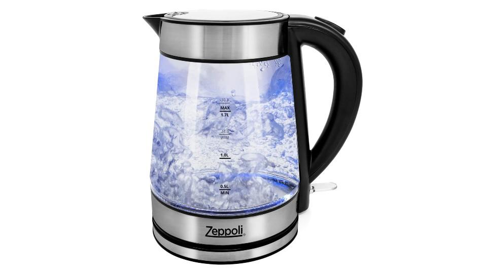 Zeppoli Electric Kettle. (Image via Amazon)