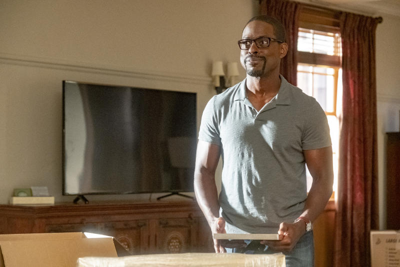 "THIS IS US -- ""Strangers"" Episode 401 -- Pictured: Sterling K. Brown as Randall -- (Photo by: Ron Batzdorff/NBC/NBCU Photo Bank via Getty Images)"