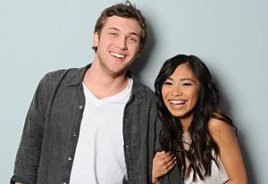 American Idol, Phillip Phillips and Jessica Sanchez | Photo Credits: Michael Becker/Fox
