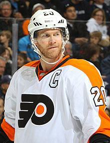 The Flyers said they're shutting down Chris Pronger for the rest of the regular season and playoffs, and the defenseman's career is in jeopardy