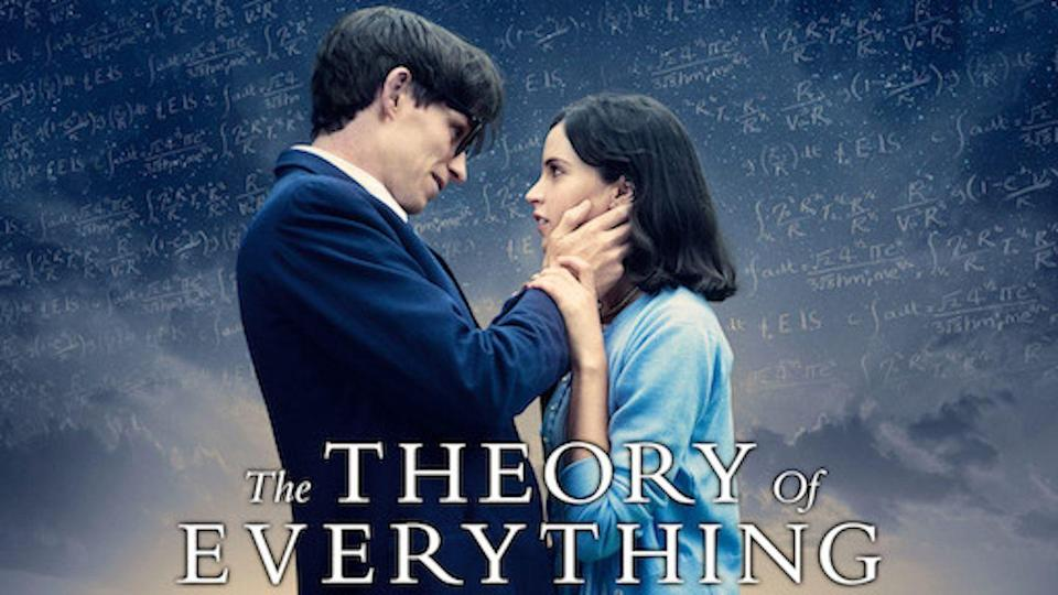 """<p>This biopic shares the relationship of Stephen Hawking and his relationship with Jane Wilde as they deal with Hawking's early diagnosis of a motor neuron disease. This one is historical, of course, but also quite a tearjerker.</p><p><a class=""""link rapid-noclick-resp"""" href=""""https://www.netflix.com/watch/80000644?trackId=253788158&tctx=3%2C38%2C72120aa6-5553-4e6a-a0e4-39fd32bf4793-13312685%2Ca8ed29ec-b206-4148-ba3b-7cbf385ff09e_12148809X54XX1607718788637%2Ca8ed29ec-b206-4148-ba3b-7cbf385ff09e_ROOT%2C"""" rel=""""nofollow noopener"""" target=""""_blank"""" data-ylk=""""slk:STREAM NOW"""">STREAM NOW</a></p>"""