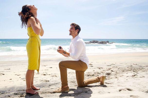 PHOTO: Ashley Laconetti and Jared Haibon became engaged on June 17 2018, while in Mexico for the upcoming fifth season of 'Bachelor in Paradise.' (Paul Hebert/ABC)