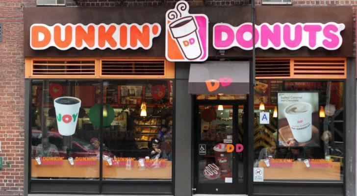 Dunkin' Donuts (DNKN) branded store front