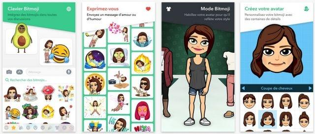 Bitmoji and Snapchat top the iTunes app chart for 2017
