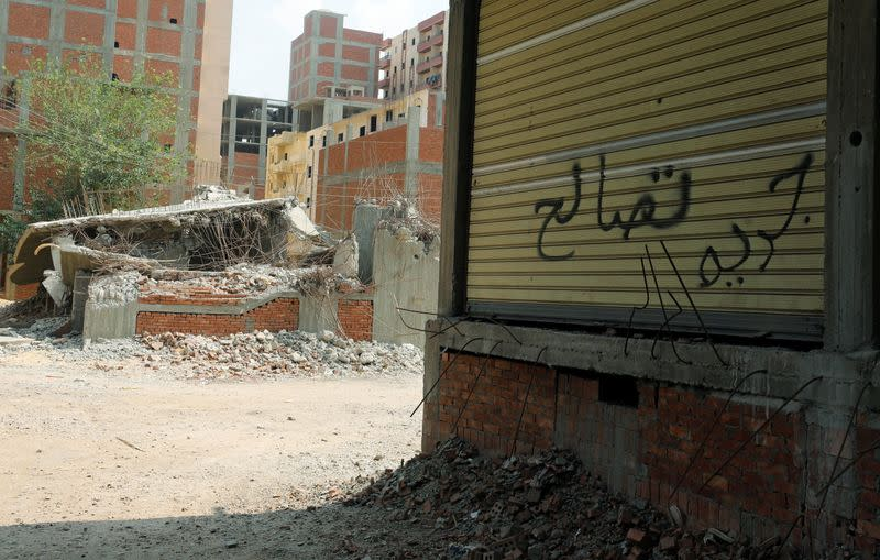 Crackdown on illegal housing leaves some Egyptians struggling to pay fees