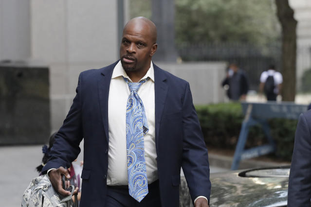 Brian Bowen Sr. took the stand in federal court on Tuesday in the first of three college basketball corruption cases. Federal prosecutors argued that the signing of his son was the result of a payoff to Bowen Sr. (AP)