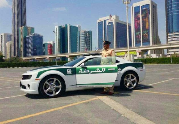 """Dubai Police has recently added a Chevrolet Camaro SS to their fleet for """"highway patrol"""" duties. The Camaro SS is motivated by a 6.2-liter V8 and has a top speed of 253 kmph."""
