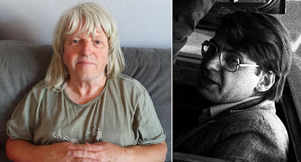 Nick Barrit, left, says he had a lucky escape after an encounter with serial killer Dennis Nilsen, right. (SWNS/PA)