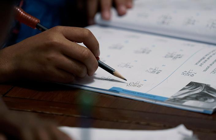 Homeschooling Surge (Copyright 2021 The Associated Press. All rights reserved.)