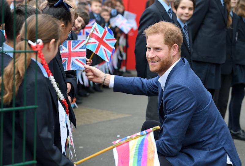 Prince Harry Had to Convince a 4-Year-Old That He's Actually a Prince