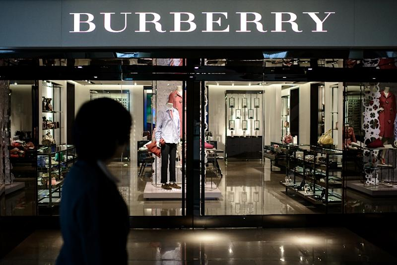 Profits up at Burberry in