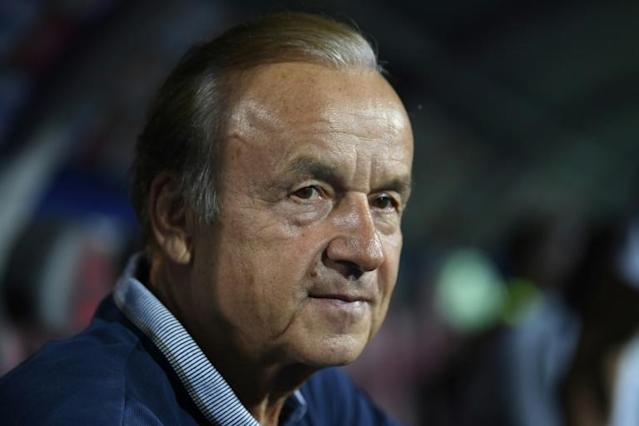 Gernot Rohr is attempting to lead Nigeria to a fourth Africa Cup of Nations title (AFP Photo/Khaled DESOUKI)