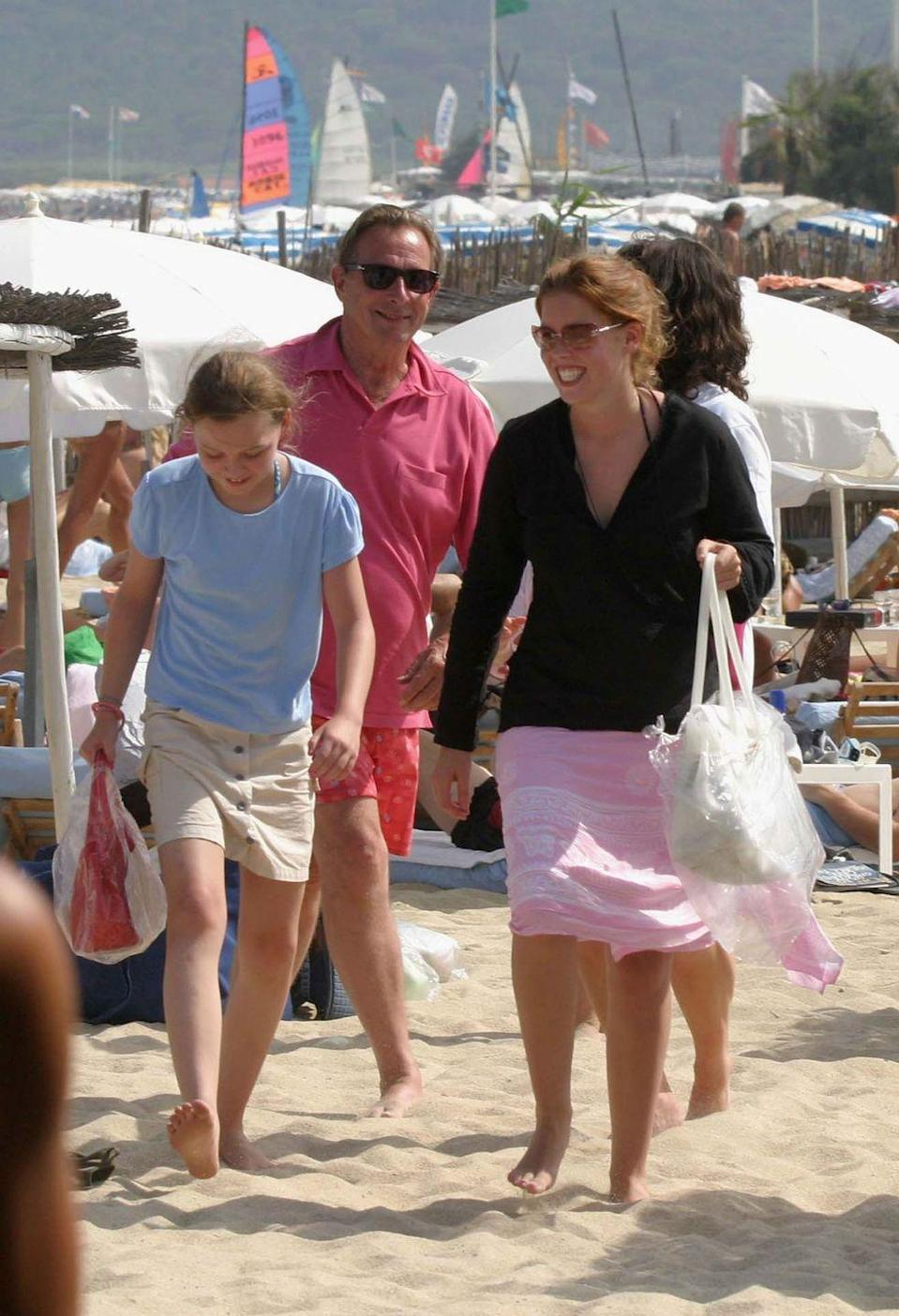 <p>Princess Beatrice enjoyed the jet-set life in St. Tropez, where she was spotted enjoying fun in the sun at the French Riviera beach town's iconic Club 55. <br></p>