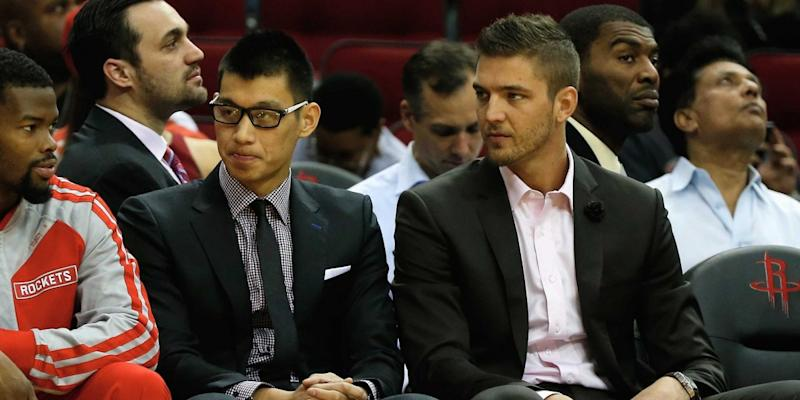 Jeremy Lin and Chandler Parsons