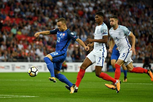 Marcus Rashford goes 'back to basics' after slow start for England vs Slovakia