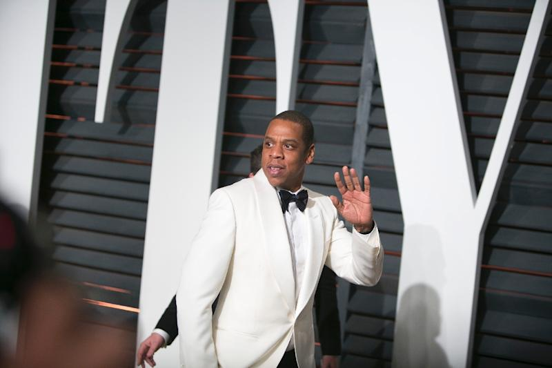 Jay Z has quietly used his wealth to post bail for people arrested in protests across the US against police excesses, an author close to him says (AFP Photo/Adrian Sanchez-Gonzalez)