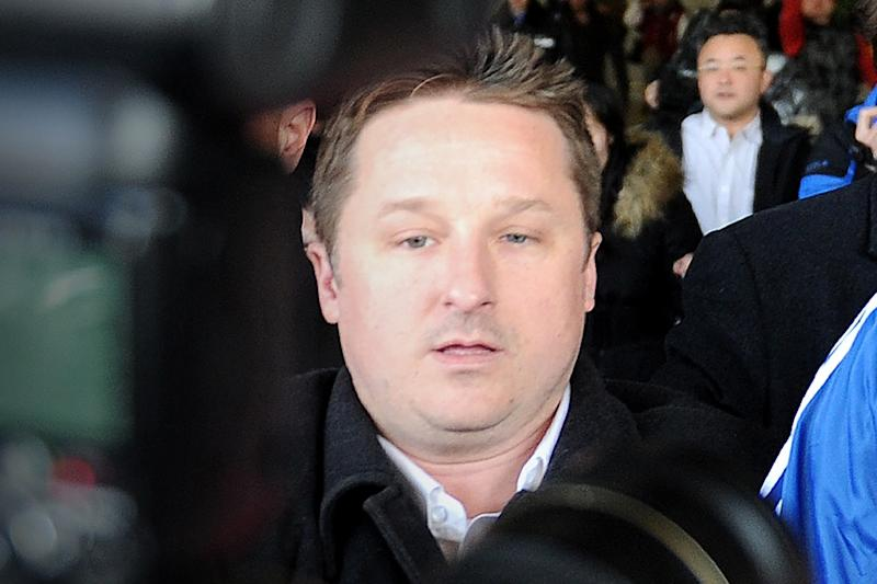 "Michael Spavor, pictured in 2014,is accused of activities that ""endanger China's security"""