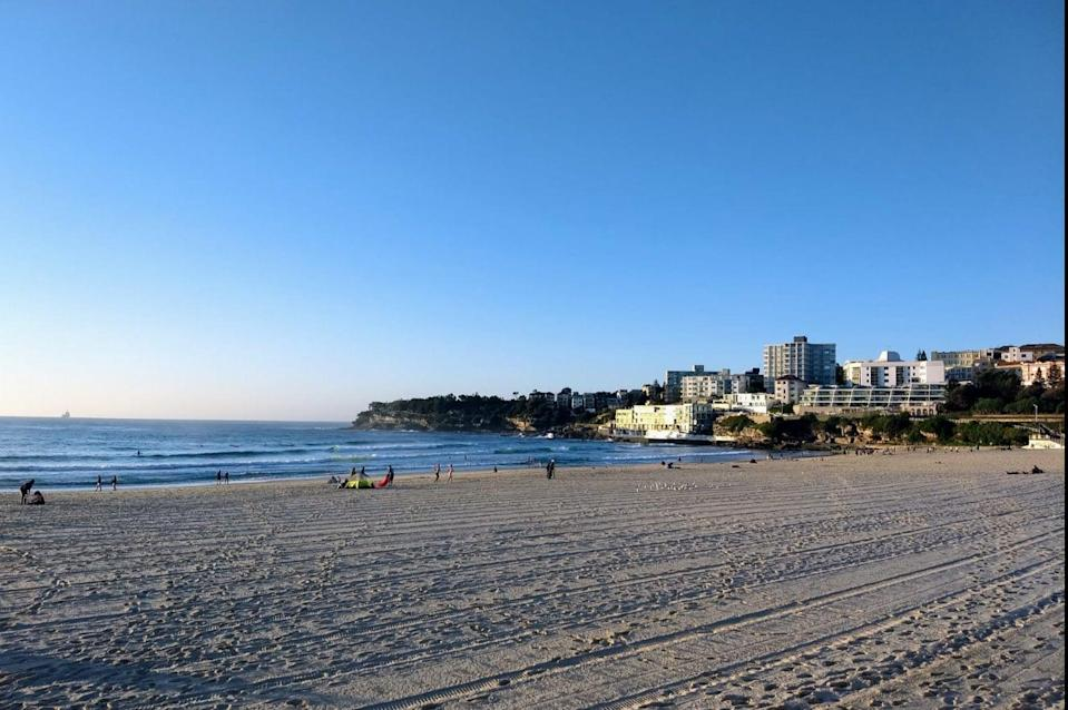 "<p>Australia could be on the government's ""green list"" when travel restrictions ease next month (pictured is Bondi Beach)</p> (PA)"