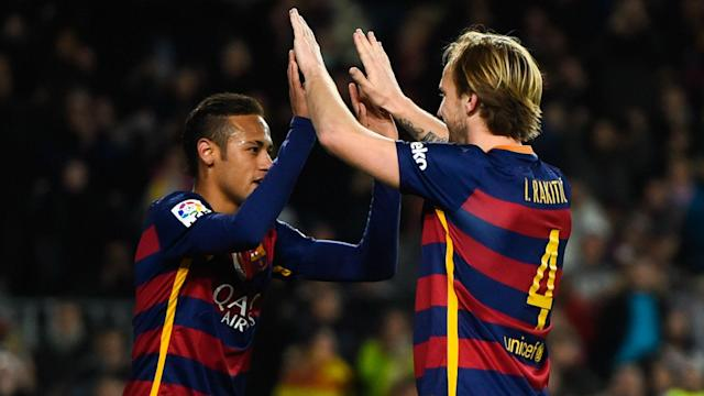 Paris Saint-Germain made Neymar the world's most expensive player and former Barcelona team-mate Ivan Rakitic is missing him.