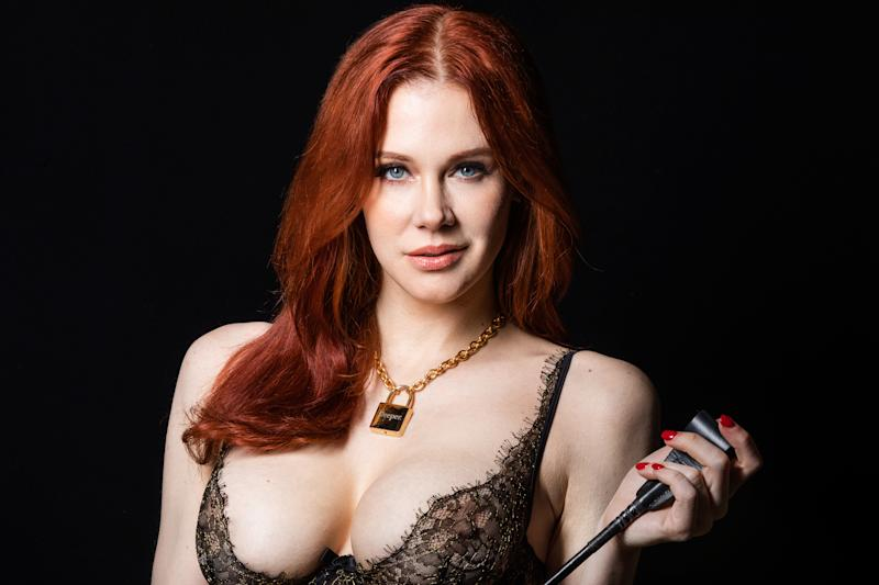 Maitland Ward poses with Vixen Media Group's Deeper series says money and roles in porn beat Hollywood