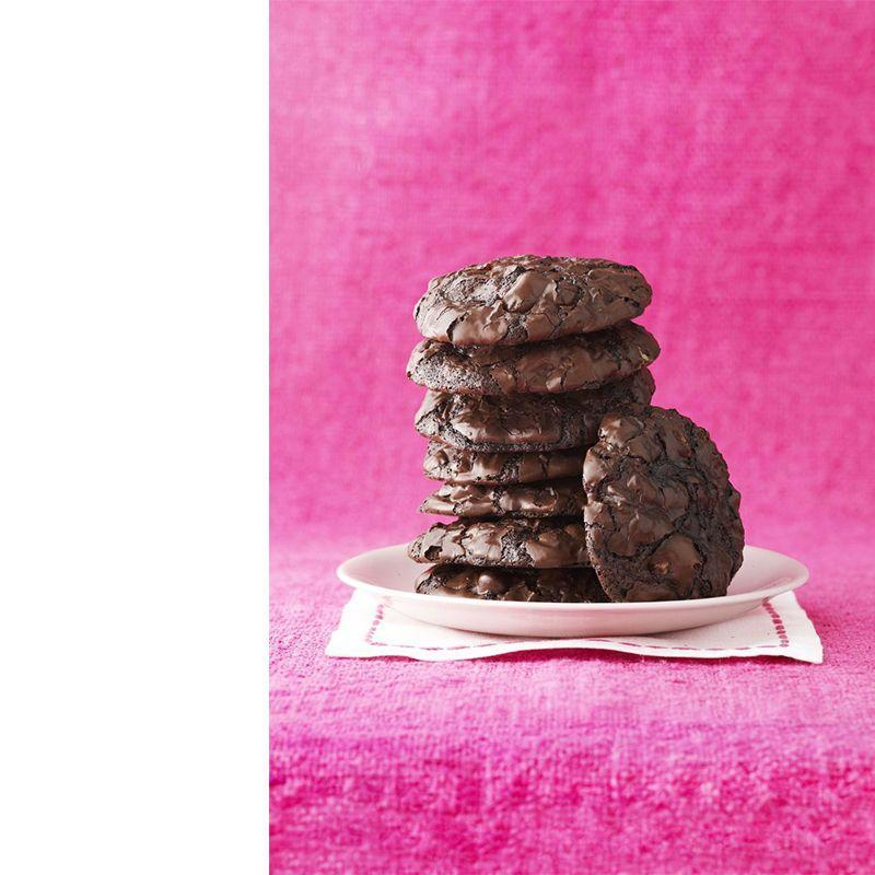 """<p>If this decadent picture doesn't convince you to whip up some cookie dough, we don't know what will. It's the perfect dessert with little to no clean up.</p><p><a href=""""https://www.womansday.com/food-recipes/food-drinks/recipes/a12890/chewy-chocolate-cookies-recipe-wdy0415/"""" rel=""""nofollow noopener"""" target=""""_blank"""" data-ylk=""""slk:Get the recipe for Chewy Chocolate Cookies."""" class=""""link rapid-noclick-resp""""><em>Get the recipe for Chewy Chocolate Cookies.</em></a><br></p>"""