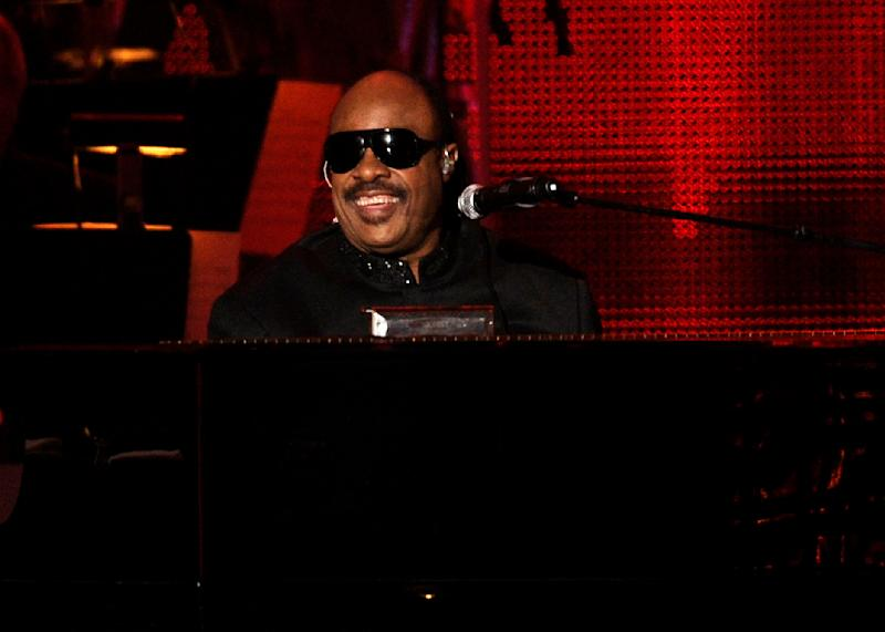 Stevie Wonder performs at the MusiCares Person of the Year gala honoring Barbra Streisand on Friday Feb. 11, 2011 in Los Angeles. (AP Photo/Chris Pizzello)
