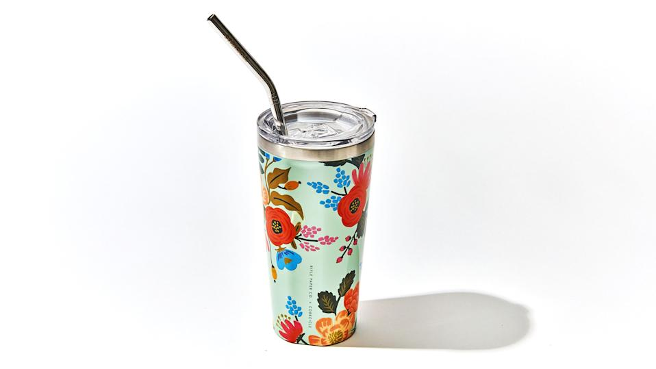 """$35, Bloomingdales's. <a href=""""https://www.bloomingdales.com/shop/product/corkcicle-lively-floral-tumbler?ID=3919793&CategoryID=3865"""" rel=""""nofollow noopener"""" target=""""_blank"""" data-ylk=""""slk:Buy Now"""" class=""""link rapid-noclick-resp"""">Buy Now</a><br>$35, L.L.Bean. <a href=""""https://www.llbean.com/llb/shop/125748"""" rel=""""nofollow noopener"""" target=""""_blank"""" data-ylk=""""slk:Buy Now"""" class=""""link rapid-noclick-resp"""">Buy Now</a><br>"""