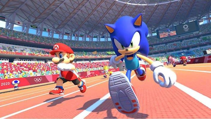 Live vicariously through Mario and Sonic in Tokyo.