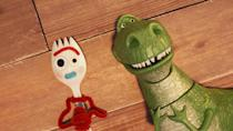 "<p>The plucky hero of the fourth <em>Toy Story</em> movie investigates everything from ""what is a computer"" to ""what is love"" to ""what is cheese"" in mini episodes, perfect for keeping a toddler amused, engaged, and informed while their parent runs to the bathroom.</p> <p><a href=""https://cna.st/affiliate-link/3EHh1cdBmrMnwQ8ZmkQqkYS6zujJTi3sJkjPPVakz3HfZXy4arg1inMBixdP8fVcLCM4koacYUgKbMPhPuzNvkFQaidZ55h4qHuEmjzqGijzwGAKjahmMQLBC2u42YLfWHtNnE3v3mdpEXb2PnPHp4GC?cid=602d2c6cdd60a6947eb53094"" rel=""nofollow noopener"" target=""_blank"" data-ylk=""slk:Watch now on Disney+"" class=""link rapid-noclick-resp""><em>Watch now on Disney+</em></a></p>"