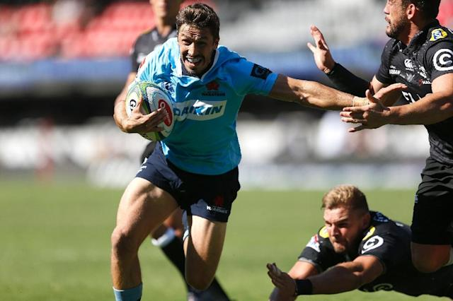 The 24-year-old NSW Waratahs scrum-half is yet to earn his first Test cap after an initial squad call-up a year ago (AFP Photo/GIANLUIGI GUERCIA)