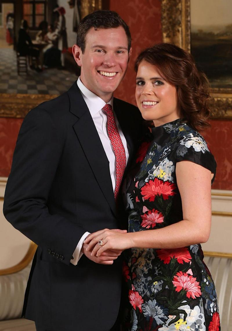Eugenie announced her engagement to boyfriend of seven years Jack Brooksbank earlier this month. Source: Getty