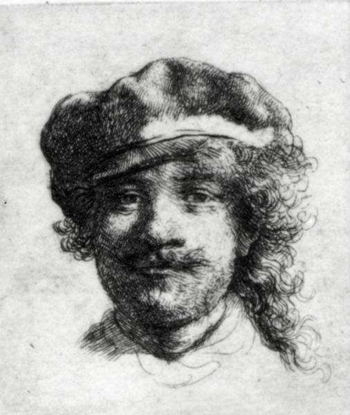 "FILE - This undated file photograph released by the Isabella Stewart Gardner Museum shows the etching ""Self-Portrait,"" by Rembrandt, one of more than a dozen works of art stolen by burglars in the early hours of March 18, 1990.The FBI said Monday, March 18, 2013, it believes it knows the identities of the thieves who stole the art. Richard DesLauriers, the FBI's special agent in charge in Boston, says the thieves belong to a criminal organization based in New England the mid-Atlantic states. (AP Photo/Isabella Stewart Gardner Museum, File) NO SALES"