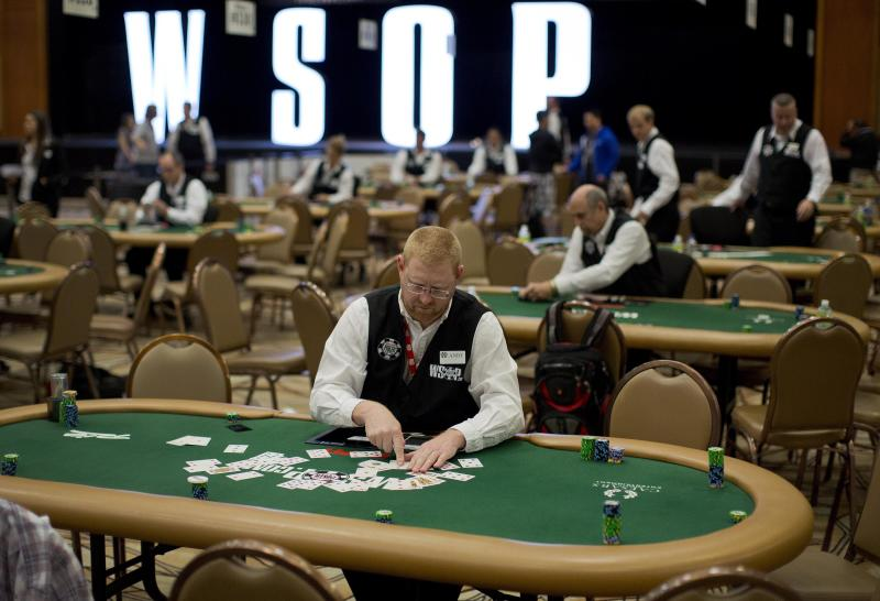 World Series of Poker opens in Las Vegas