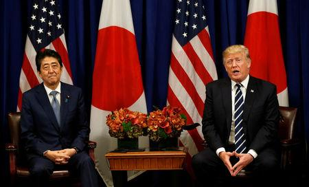 Trump, Japan's Abe Agree To Keep Putting Pressure On North Korea