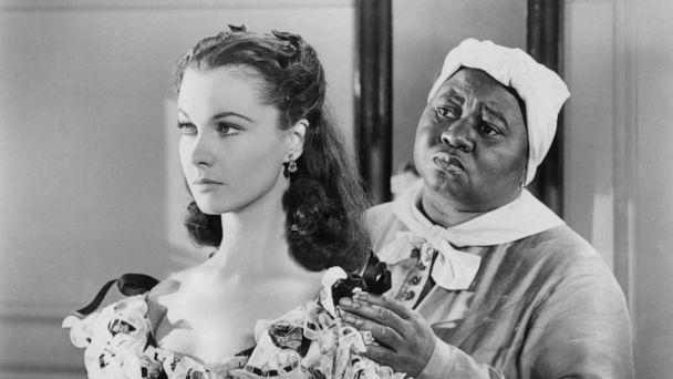 PHOTO: Hattie McDaniel tries to console Vivien Leigh in a scene from the film 'Gone With The Wind', 1939. (Michael Ochs Archives/Getty Images)