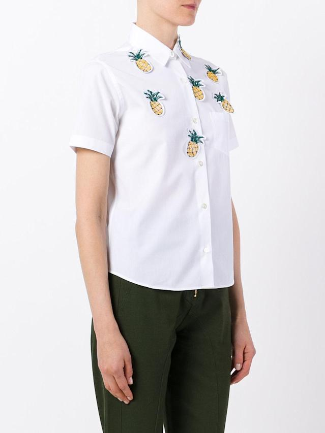 "<p>Jimi Roos Pineapple Detail Shirt, $157, <a href=""https://www.polyvore.com/jimi_roos_pineapple_detail_shirt/thing?id=207018834"" rel=""nofollow noopener"" target=""_blank"" data-ylk=""slk:farfetch.com"" class=""link rapid-noclick-resp"">farfetch.com</a><br><br></p>"
