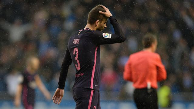 Barcelona defender Gerard Pique will be rested for the LaLiga trip to Granada having played both Spain's matches against Israel and France.