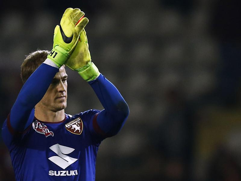 Hart has settled into life in Turin: Getty