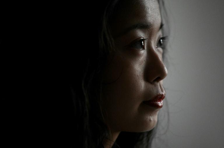 """Zhou said when she first went to the police with her accusation, she was discouraged from speaking out, making her feel her existence was """"very insignificant"""""""