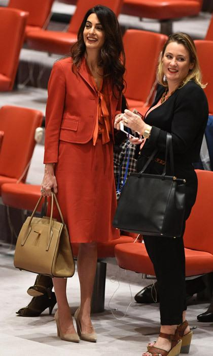 Amal Clooney at the United Nations