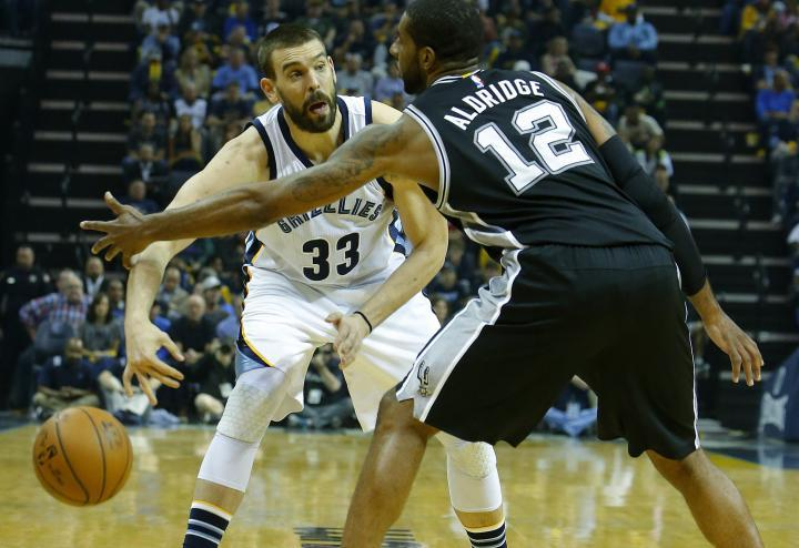 Basket NBA Playoff - San Antonio Spurs vs Memphis Grizzlies