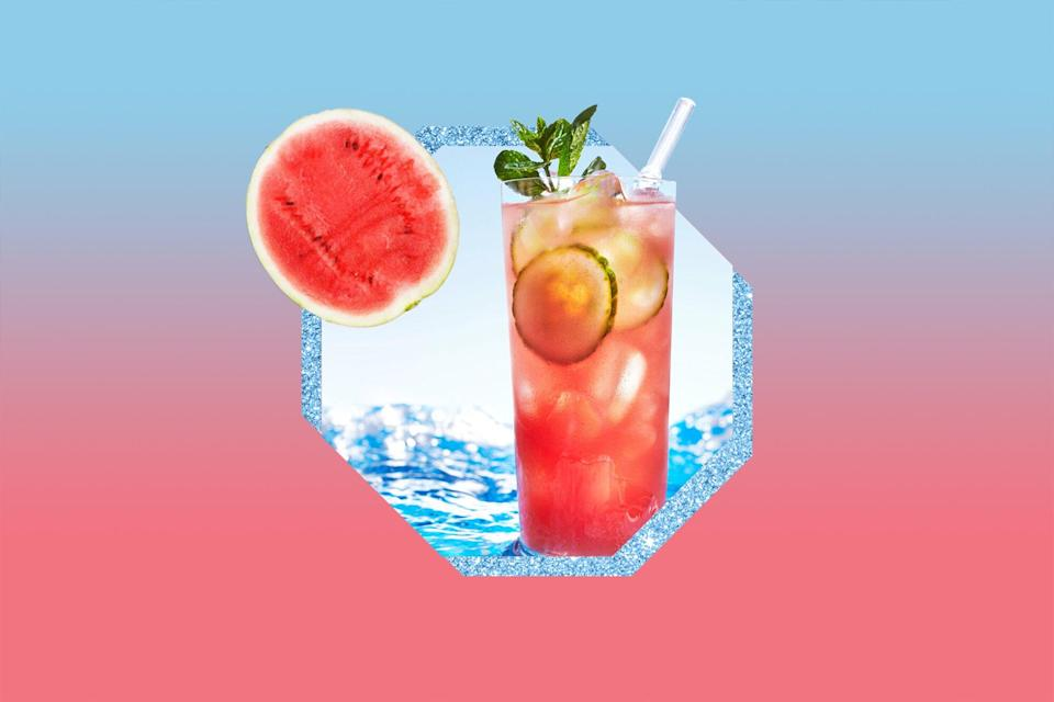 This Coconutty Watermelon Cooler Is So Tasty, You'll Have No Problem Hitting Your H2O Goals