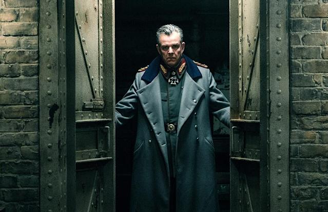 <p>Danny Huston plays General Ludendorff, the German heavy who has a nefarious plot to end the war using deadly toxic bombs on England. (Photo: Warner Bros.)<br> </p>  <p>Doctor Poison</p><p> Elena Anaya plays the character who is a longtime nemesis of Wonder Woman in DC Comics; in the film, the deformed, deranged doctor, otherwise known as Isabel Maru, serves alongside Ludendorff, concocting his killer weapons. (Photo: Warner Bros.) </p>  <p>Behind Enemy Lines</p><p> Wonder Woman is accompanied by Charlie, Sameer, Steve, and their scout Chief (Eugene Brave Rock), through German territory. (Photo: Warner Bros.)<br> </p>  <p>No Man's Land</p><p> Wonder Woman races across the battlefield, ready to storm the German trenches. (Photo: Warner Bros.)<br> </p>  <p>A Moment of Reflection</p><p> Steve tries to convince Diana to listen to his plan. (Photo: Warner Bros.)<br> </p>  <p>Lady in Blue</p><p> Diana certainly knows how to make an entrance to a gala. (Photo: Warner Bros.)<br> </p>  <p>Dance of Doom</p><p> Diana has her sword handy as she looks for an opportunity to strike down the general. (Photo: Warner Bros.)<br> </p>  <p>Reinforcements</p><p> Chief, Charlie, Sameer, and Steve follow Wonder Woman into battle. (Photo: Warner Bros.)<br> </p>  <p>The Team</p><p> Sameer, Steve, Wonder Woman, Chief, and Charlie strike a post-battle pose. The resulting photo will be unearthed decades later by Lex Luthor (in <em>Batman v Superman</em>) and eventually returned to Diana by Bruce Wayne. (Photo: Warner Bros.)<br> </p>