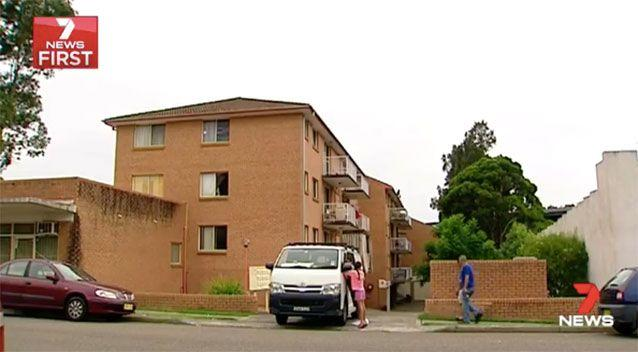 The public housing unit Ms Khodragha and her family lived in. Source: 7 News