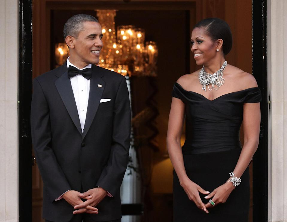 Barack and Michelle Obama. Image via Getty Images.