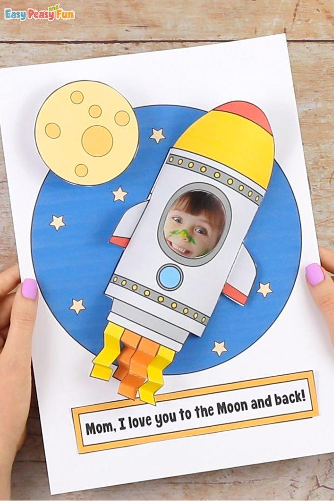 """<p>Tell your mom just how much you love them with this space-themed card. It's easy to create and much different than the typical hearts and flowers card. </p><p><strong>Get the tutorial at <a href=""""https://www.easypeasyandfun.com/rocket-mothers-day-craft/"""" rel=""""nofollow noopener"""" target=""""_blank"""" data-ylk=""""slk:Easy Peasy and Fun"""" class=""""link rapid-noclick-resp"""">Easy Peasy and Fun</a>. </strong></p><p><a class=""""link rapid-noclick-resp"""" href=""""https://go.redirectingat.com?id=74968X1596630&url=https%3A%2F%2Fwww.walmart.com%2Fsearch%2F%3Fquery%3Dacrylic%2Bpaint&sref=https%3A%2F%2Fwww.thepioneerwoman.com%2Fholidays-celebrations%2Fg35668391%2Fdiy-mothers-day-cards%2F"""" rel=""""nofollow noopener"""" target=""""_blank"""" data-ylk=""""slk:SHOP CARD STOCK"""">SHOP CARD STOCK</a></p>"""