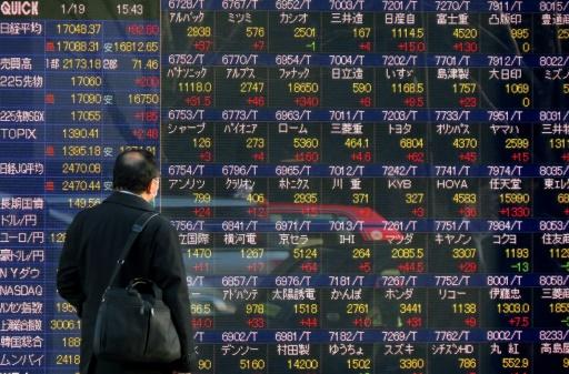 The final hour of trading in Tokyo was rattled by a strong 6.2-magnitude earthquake, sparking yen buying, which pushed down stocks